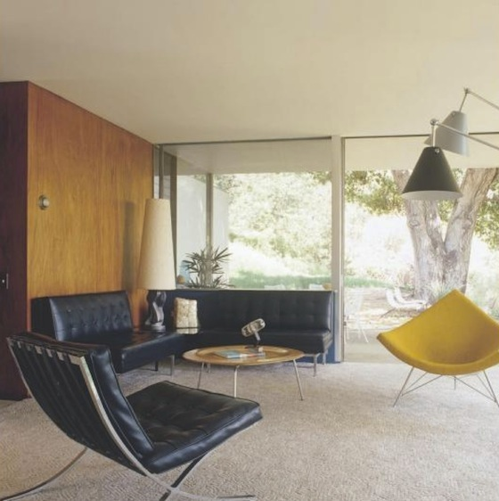 Mid century modern house interior the for Mid modern period