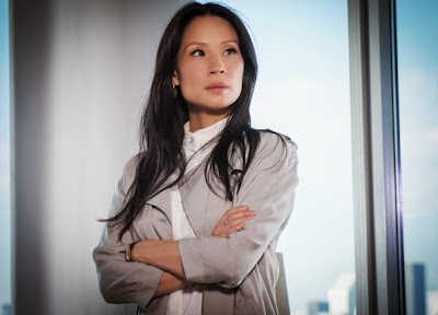 Lucy Liu as Joan Watson in CBS Elementary Season 2 Episode 8 Blood Is Thicker