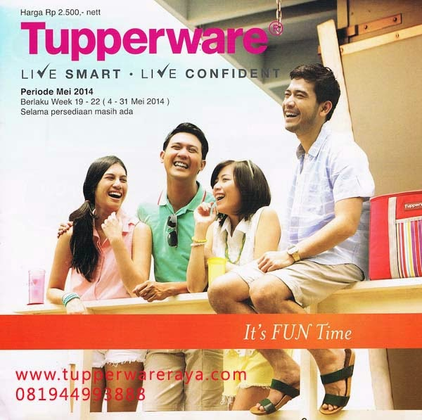 Promo Tupperware Mei 2014