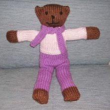 Free Designer Knitting Patterns : Knitting Galore: Thoughful Thursday Teddies For Tragedies