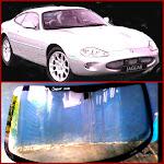 kaca depan jaguarxk 8
