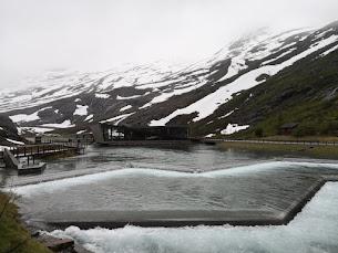 La strada n°63 in Norvegia