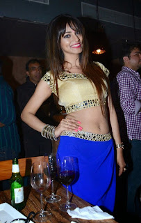 Shilpi Sharma in lovely Choli Ghagra at her 24th Birthday Celetion Party Spicy Pics