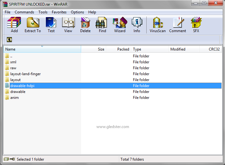 folder drawable hdpi