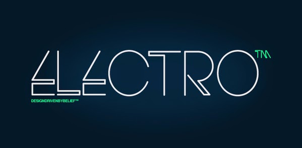 FREE: Electro Font