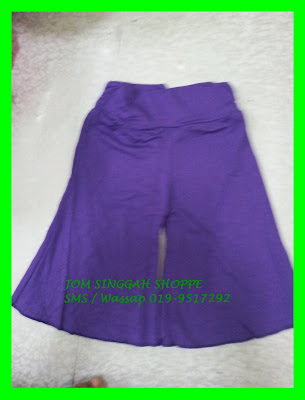 Seluar Pallazo Kanak-Kanak  Purple