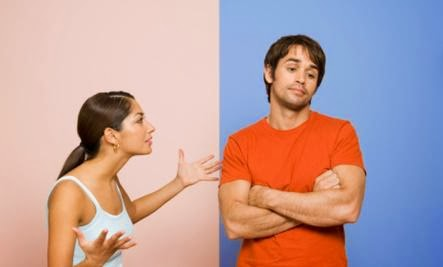 Why 'Always' and 'Never' Hurt Relationships  - man woman fighting couple sad angry ignore