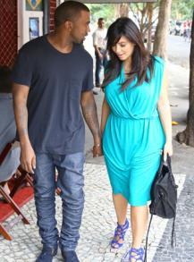 Kim Kardashian et Kanye West se sont fiancés!