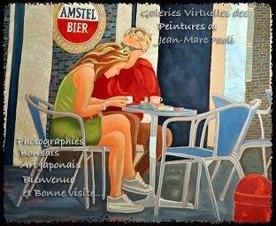 Peintures de mon ami Jean-Marc