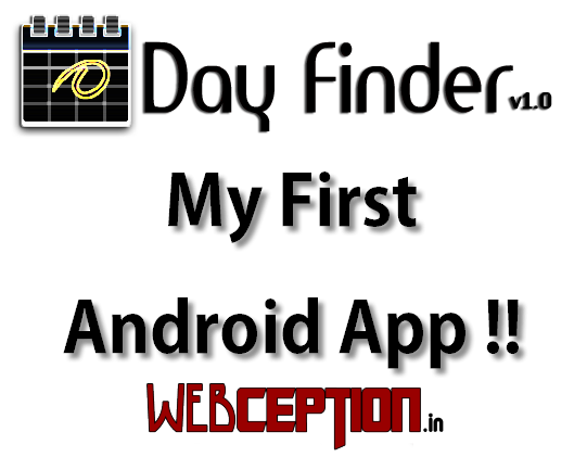 Day Finder - Webception Android app