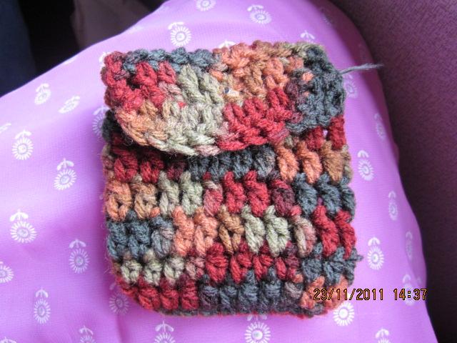 Simple Crochet Coin Purse : CREATIVE HALL: EASY CROCHET COIN PURSE