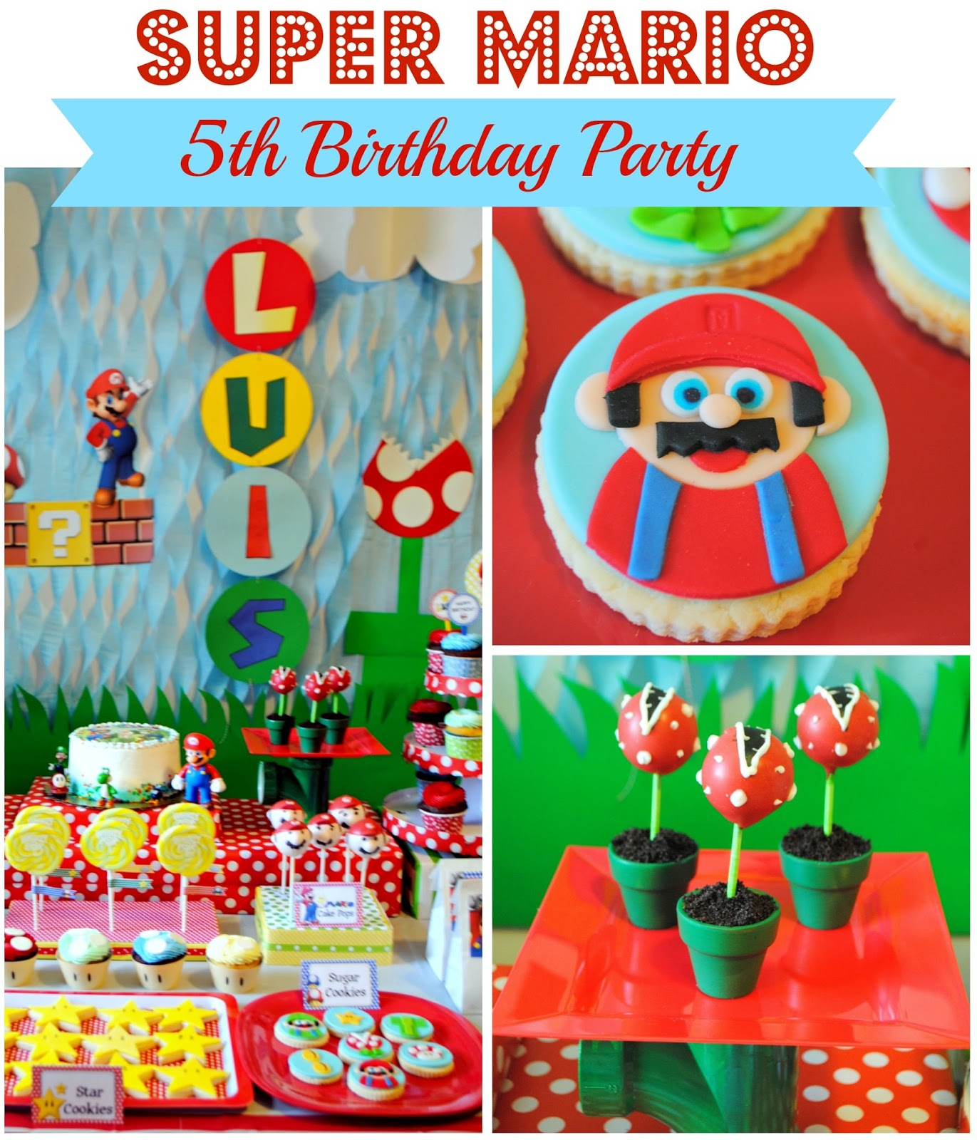 Karos Fun Land Super Mario Fifth Birthday Party