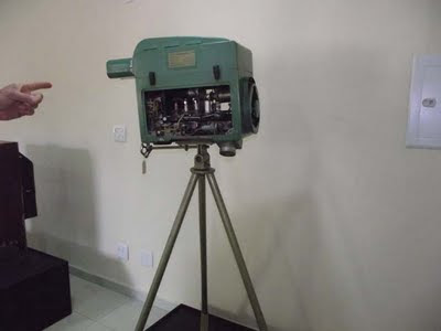 Antiga Camera de TV
