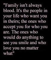 family isn't always blood
