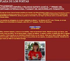 PRIMER PREMIO DEL I CERTAMEN LITERARIO INTERNACIONAL PLEAMAR DE MICRORRELATO ROMÁNTICO