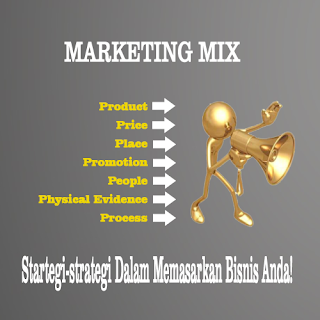 pengertian marketing mix dalam dunia marketing pemasaran