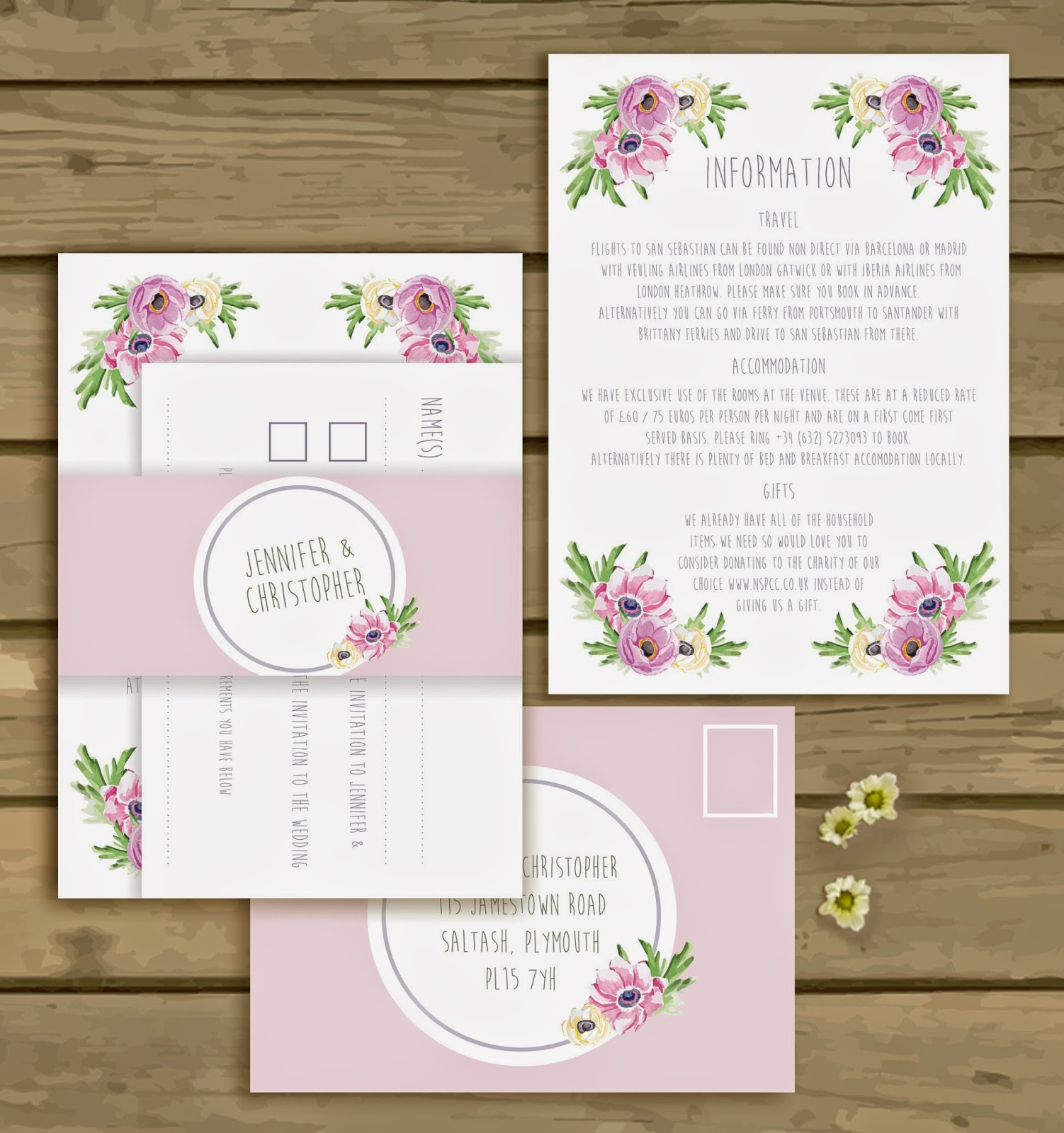 Knots And Kisses Wedding Stationery: Introducing The New Pretty ...