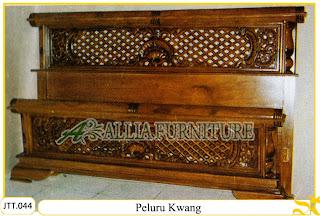 Tempat tidur kayu jati ukir jepara Peluru Kwang murah.Jakarta