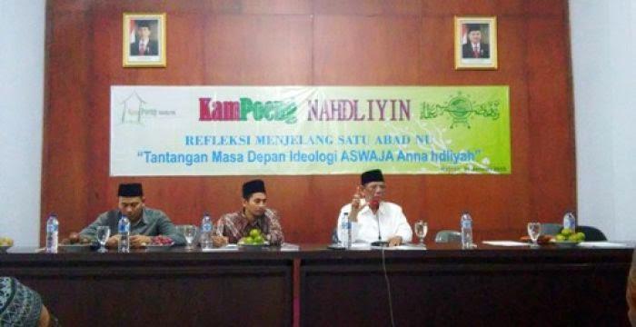 KH. Hasyim Muzadi : Waspadai Syi'ah, Wahabi dan Liberal