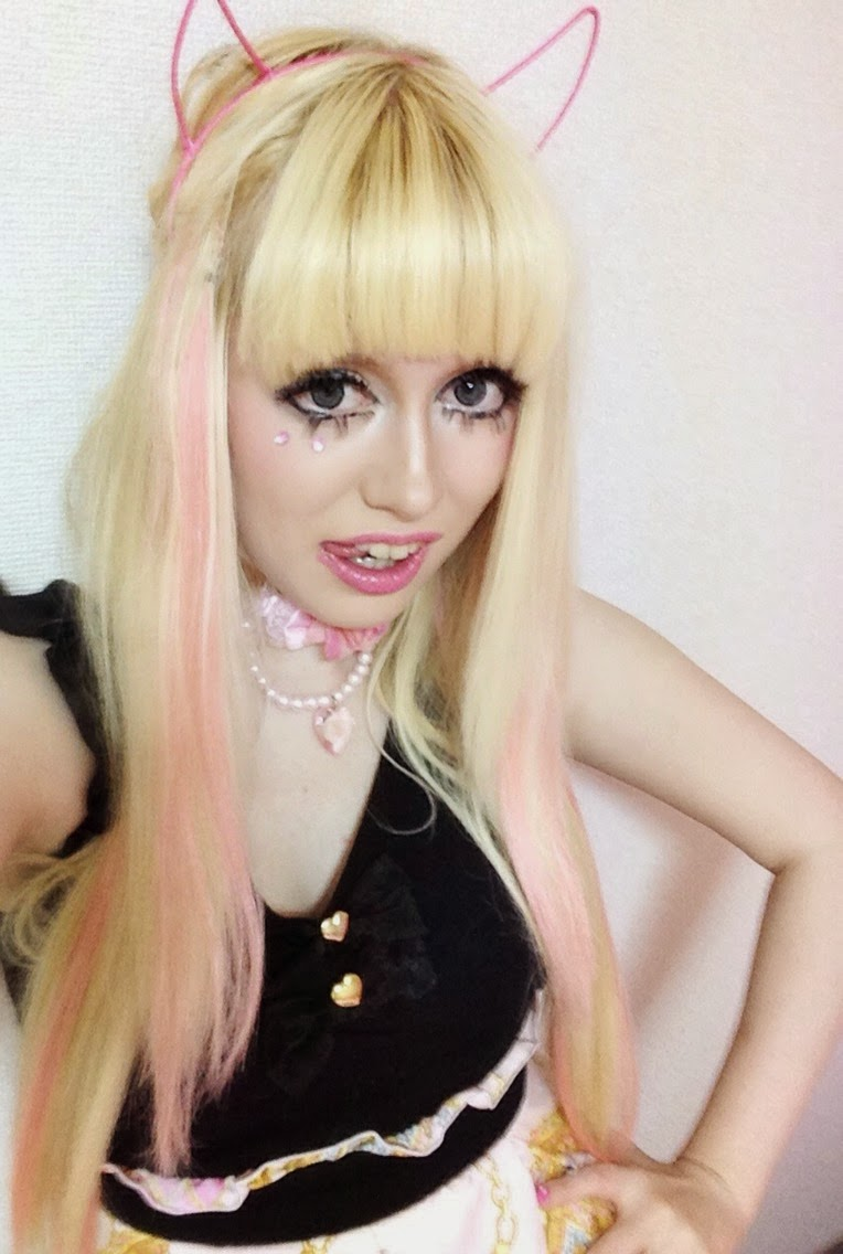 Capsule Bunny Pink Hair Extensions Clubbing And Winding Up In A