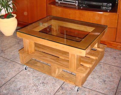 Mueble palet for Mueble salon palets