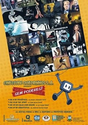 3º Cineclube Quadrinhos S.A. (2010)