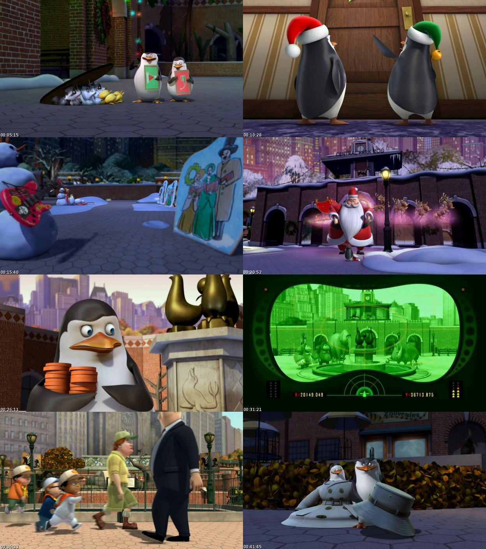 Pinguinos de Madagascar: Especial Navidad (2011) [DVDRip] [Latino]