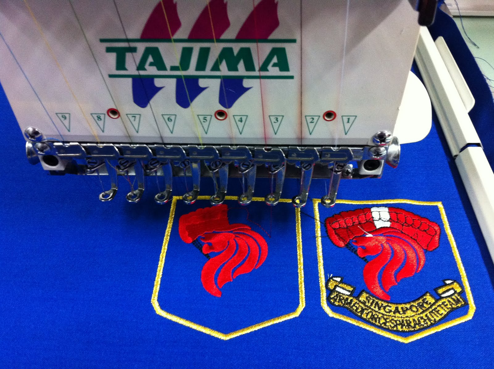machine embroidery services