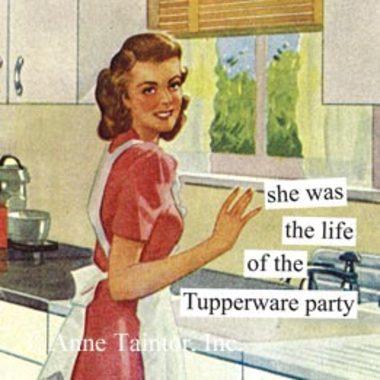 tupperware party meme