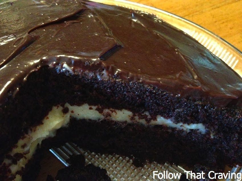 Cake With Chocolate Custard : Follow that craving: Food from home: Comfort food