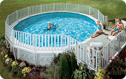 Bahe peyzaj dizayn modelleri for Above ground pool decks indianapolis