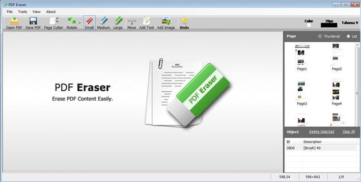 PDF Eraser program