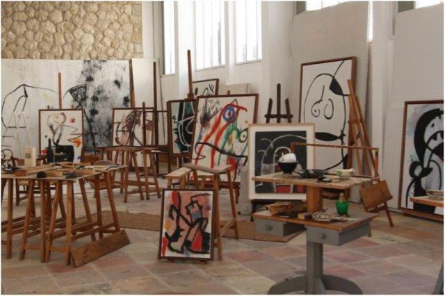 Taller Sert en la Fundacion Pilar y Joan Miro, Cala Mayor, Palma de Mallorca