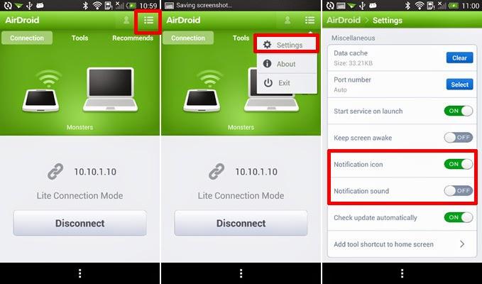 شرح وتحميل تطبيق AirDroid3 للتحكم بهاتف الأندرويد من الحاسوب على أندرويد