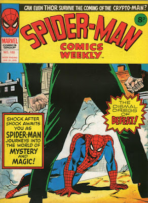 Spider-Man Comics Weekly #155