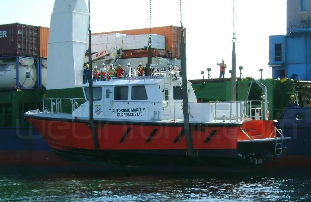 Bote Piloto Armada Nacional Colombia ARC Gorgonilla