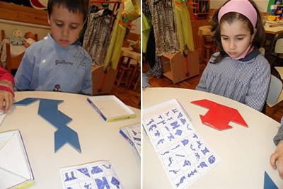 montar tangram