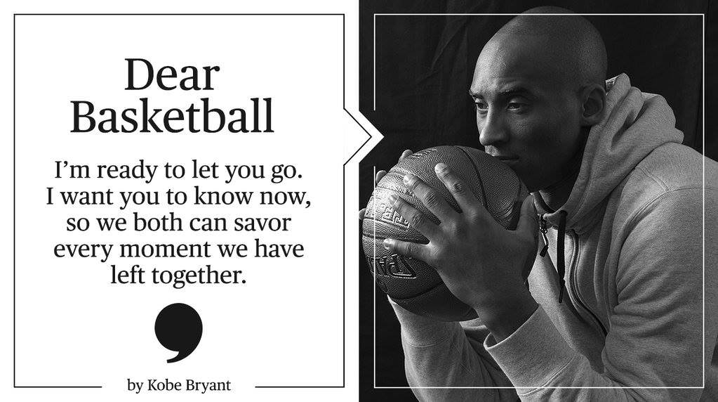 Kobe Bryant Black Mamba Announces Retirement