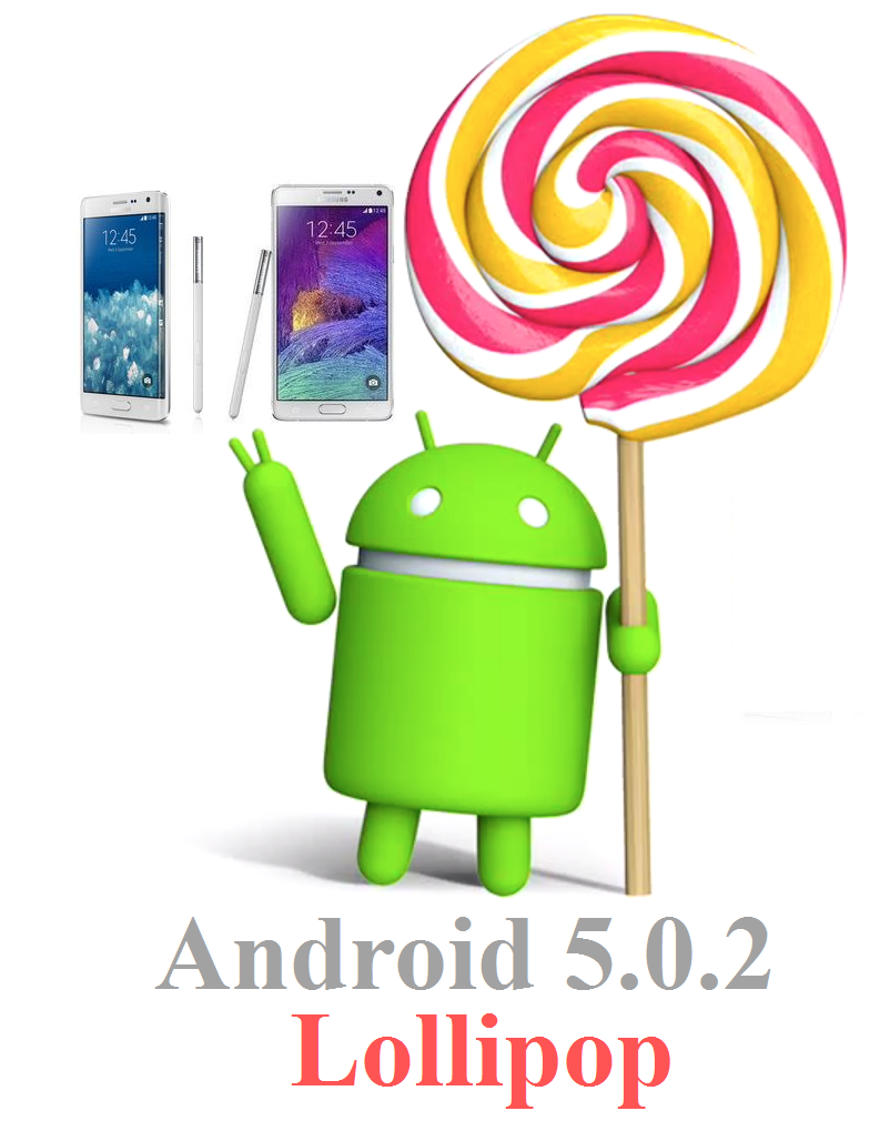 Android 5.0.2 Lollipop Update on Galaxy Note 4 and Note Edge