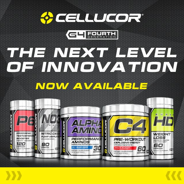 25% OFF Cellucor - Use Code NBLYFIT