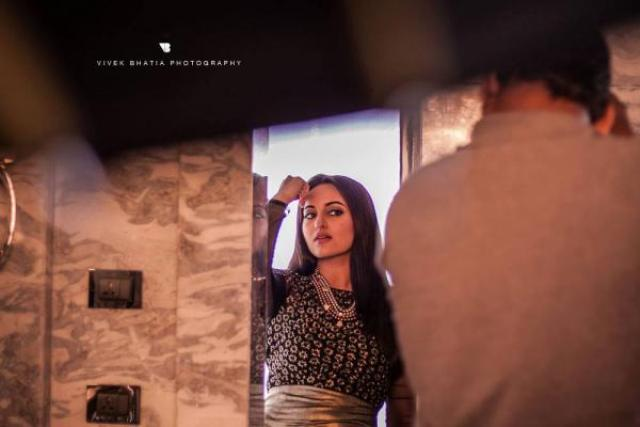 Making of Sonakshi Sinha's Filmfare shoot