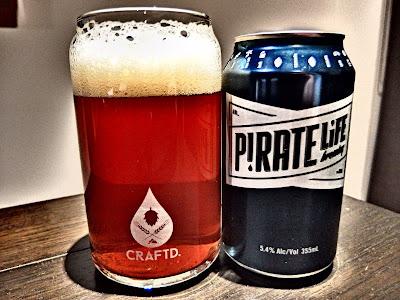 pirate life, pale ale, beer, craft beer