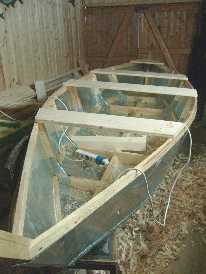 самодельная лодка из листового железа
