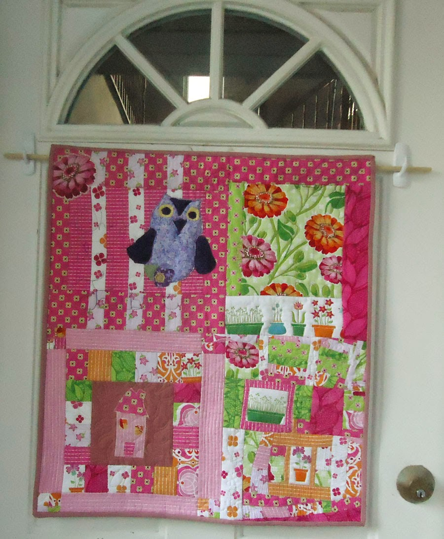Quilted Door Hanging