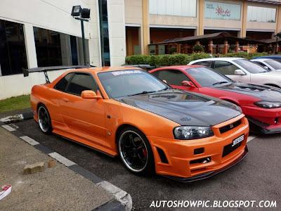 Nissan Skyline R34 GT-T convert GT-R Z-tune
