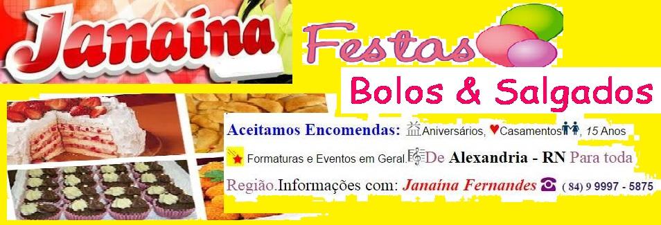 JANAÍNA FESTAS EM ALEXANDRIA - RN