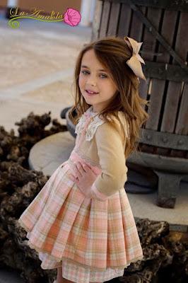 vestido niña la amapola
