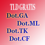 Tld Gratis dot .tk,dot.ga,dot.ml,dot.cf.