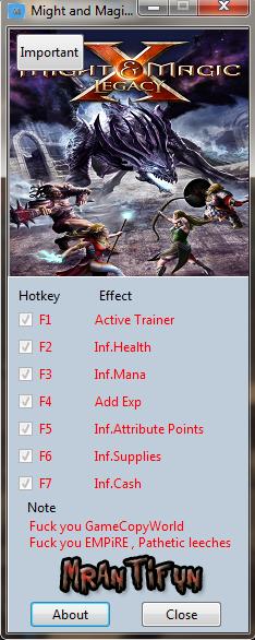 Might and Magic X Legacy v4.2.2.12621 Trainer +6 [MrAntiFun]