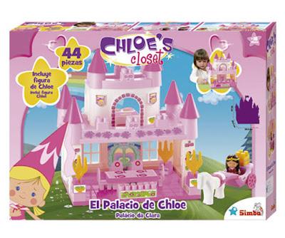 TOYS : JUGUETES - CHLOE'S CLOSET : La magia de Chloe  El Palacio de Chloe | Playset + Figura  Producto Oficial Serie Television 2015 | Simba | Edad: +3 años